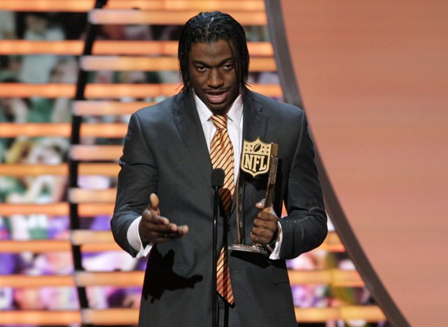 RGIII, Rookie of the Year
