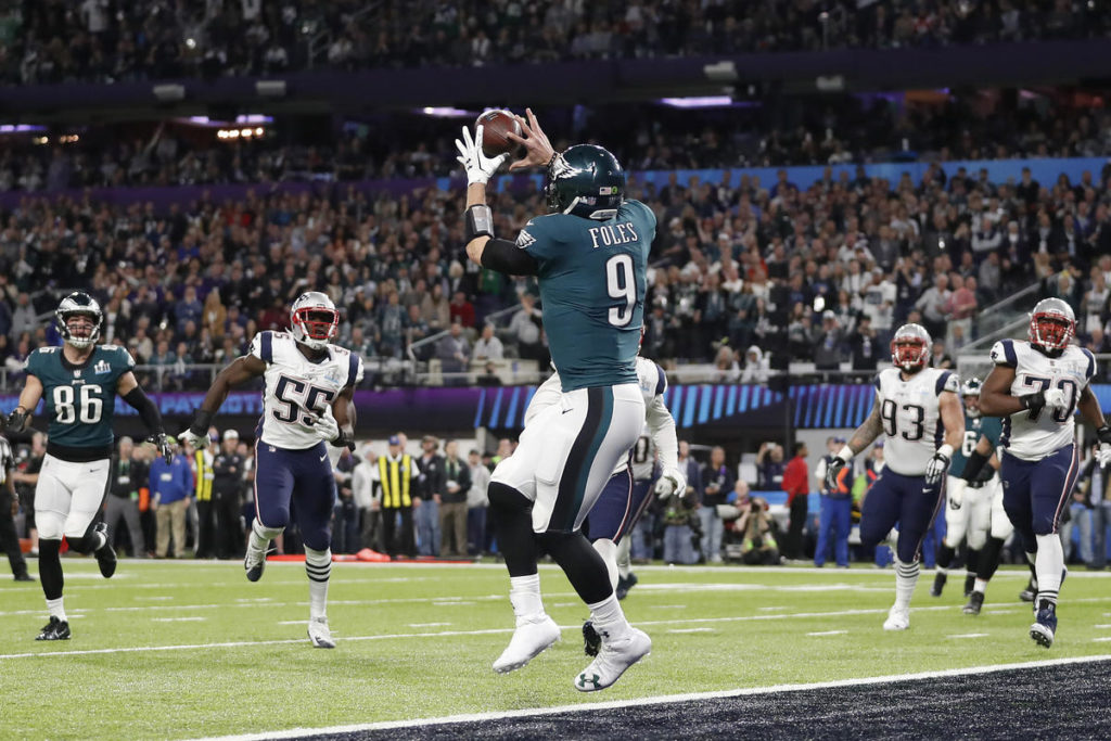 Les Philadelphia Eagles remportent le Super Bowl LII