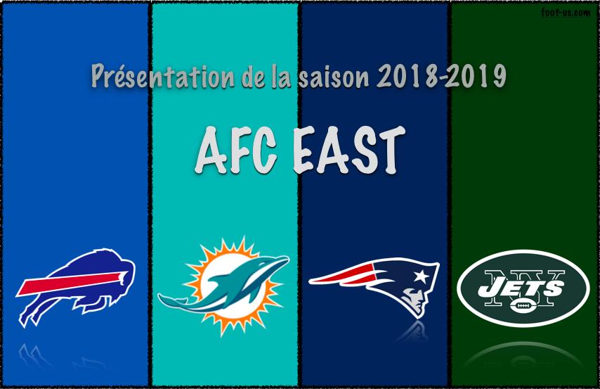 Présentation de la saison 2018-2019 – AFC East