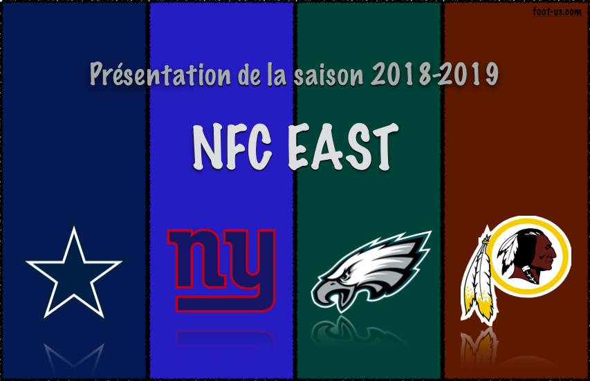 Présentation de la saison 2018-2019 – NFC East