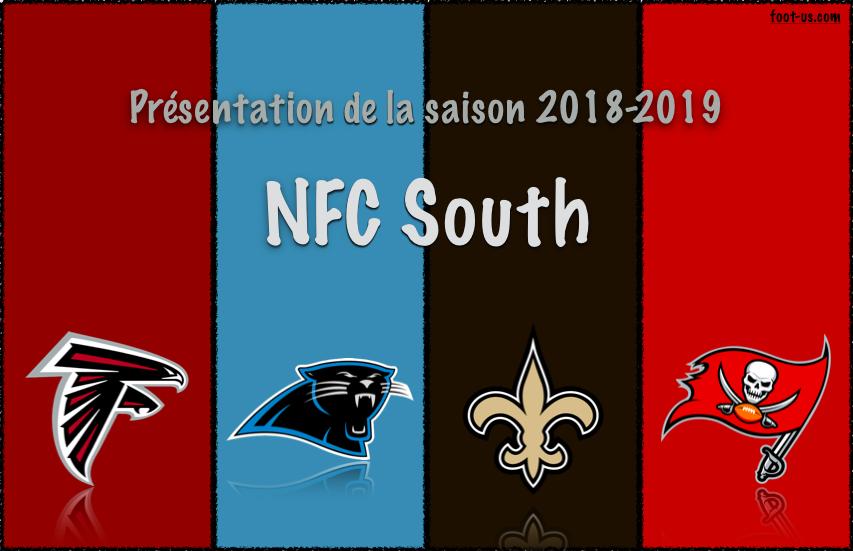 Présentation de la saison 2018-2019 – NFC South