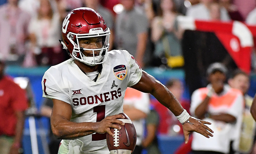 Kyler Murray choisit la NFL