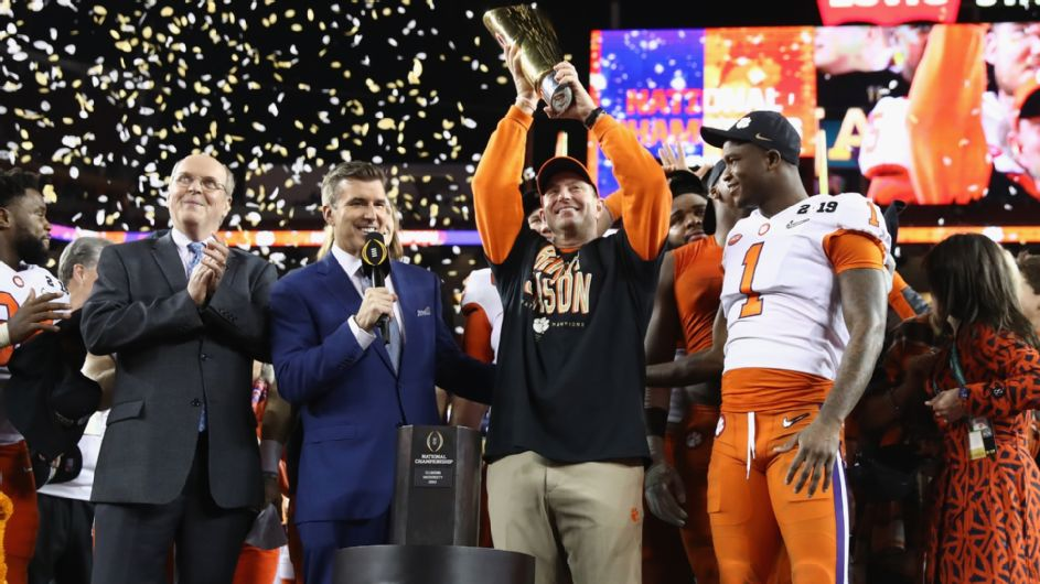 College Fooball – Clemson surclasse Alabama pour remporter le titre national