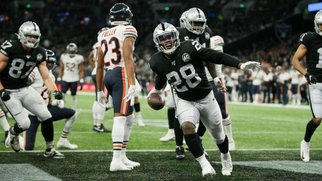 Les Raiders domptent les Bears
