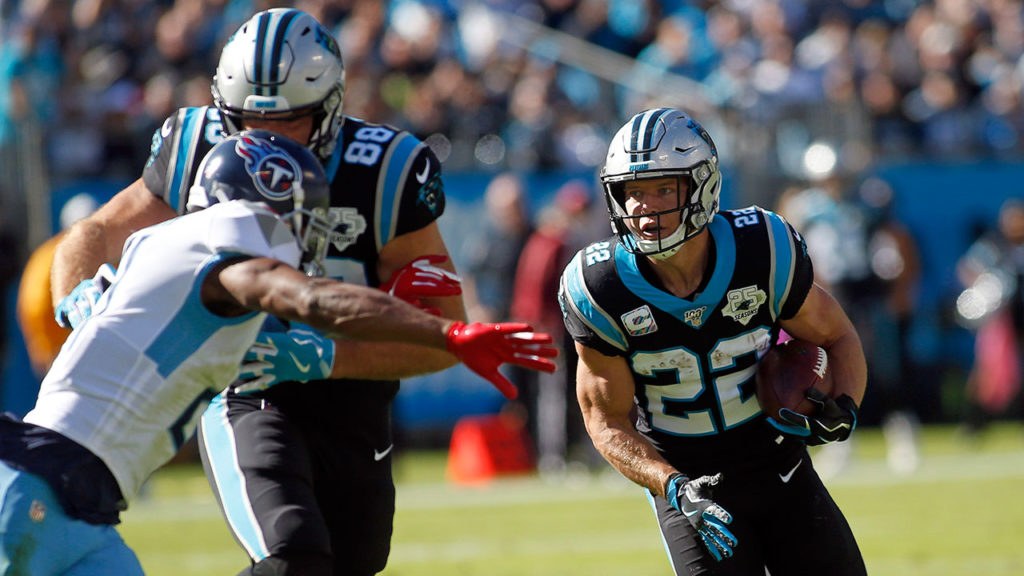 Christian McCaffrey Panthers NFL