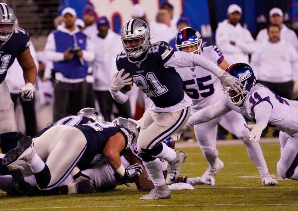 NFL, Week 9 – Les Dallas Cowboys dominent encore les New York Giants