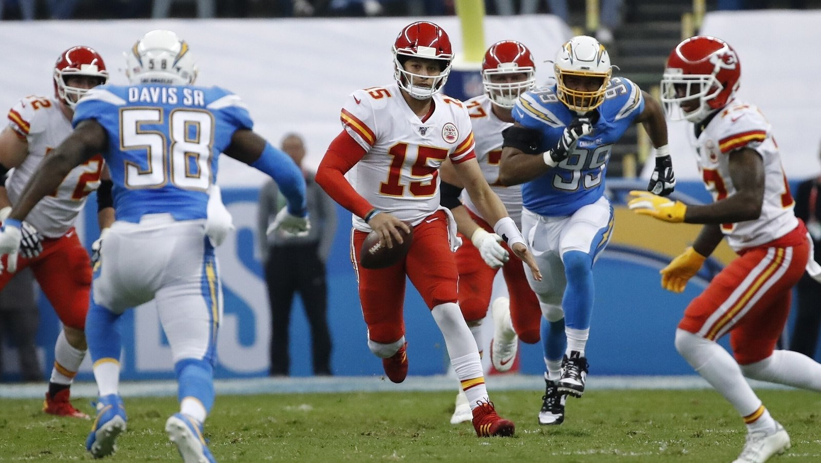 Patrick Mahomes Kansas City Chiefs