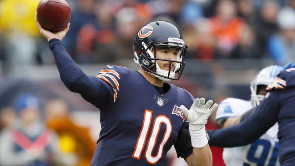 NFL Week 10 - Mitchell Trubisky