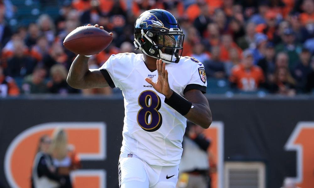 NFL – L'équipe-type de la week 10, emmenée par Lamar Jackson