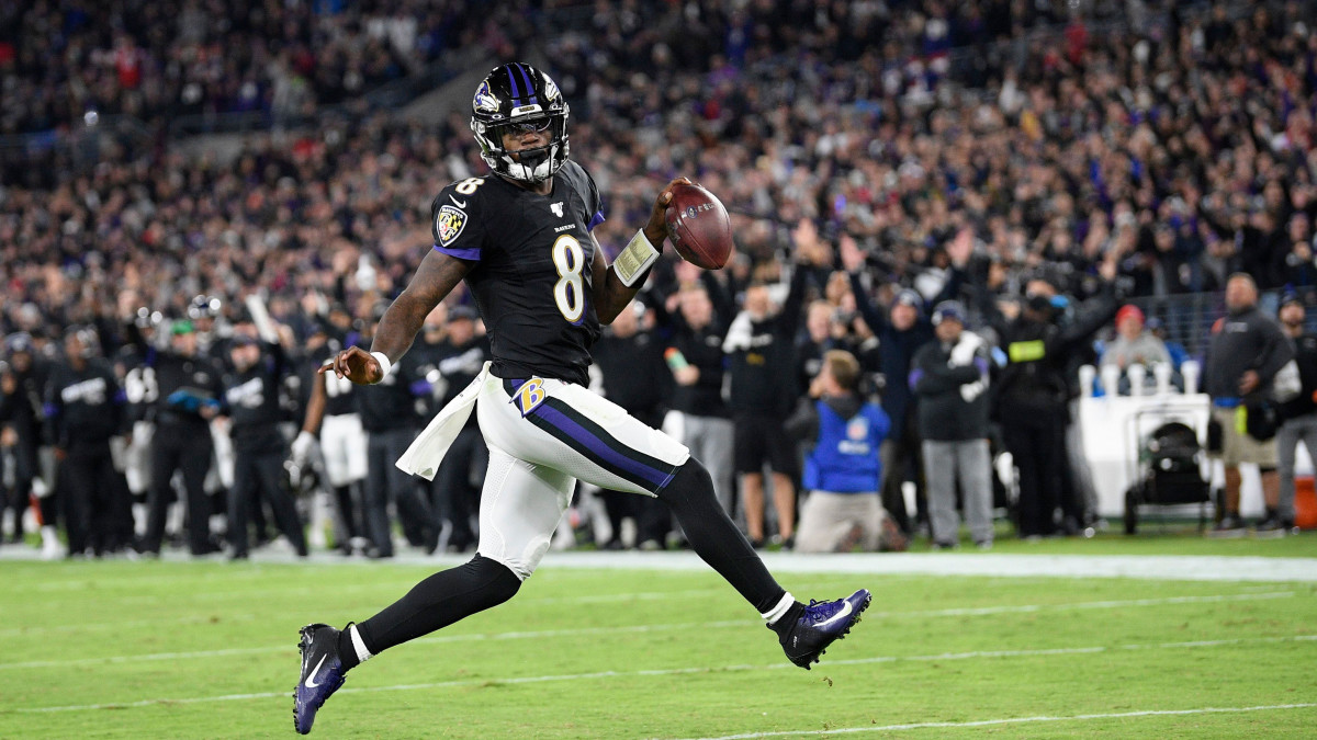Lamar Jackson Ravens NFL