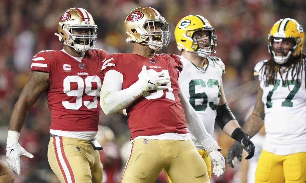 Résumés des matchs NFL - 49ers Packers