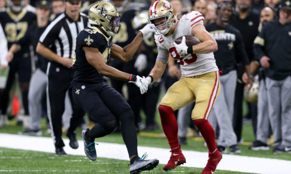 NFL Week 14 - 49ers Saints