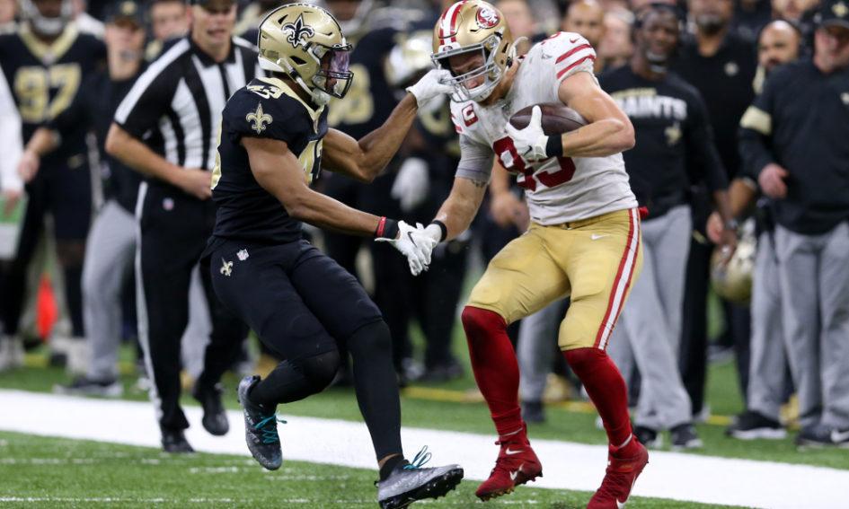 NFL Week 14 - 49ers Saints