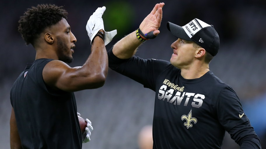 Brees & Thomas Saints