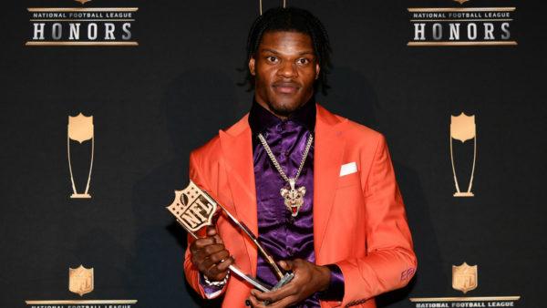 NFL MVP Lamar Jackson