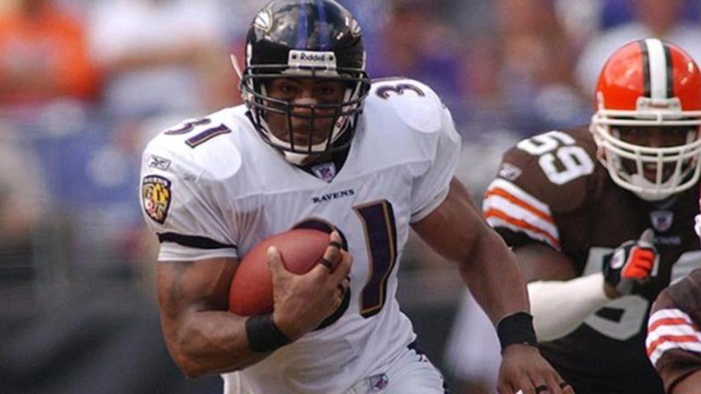 Histoire des Ravens Jamal Lewis