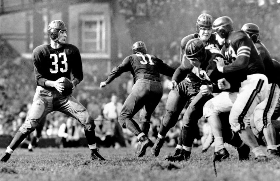 Histoire des Redskins - Sammy Baugh