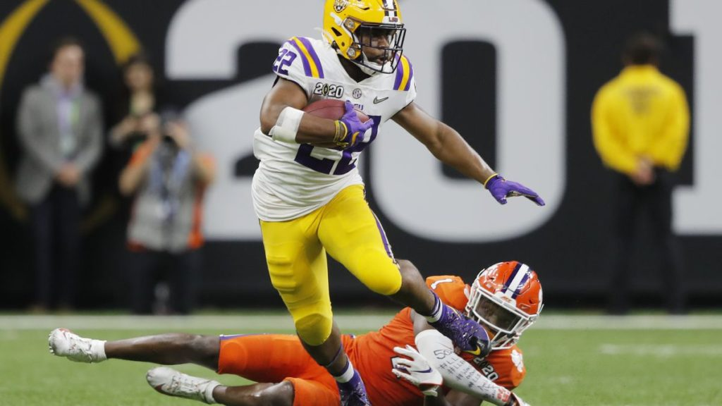 Clyde Edwards-Helaire LSU