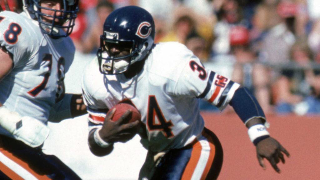 Histoire des Bears - Walter Payton