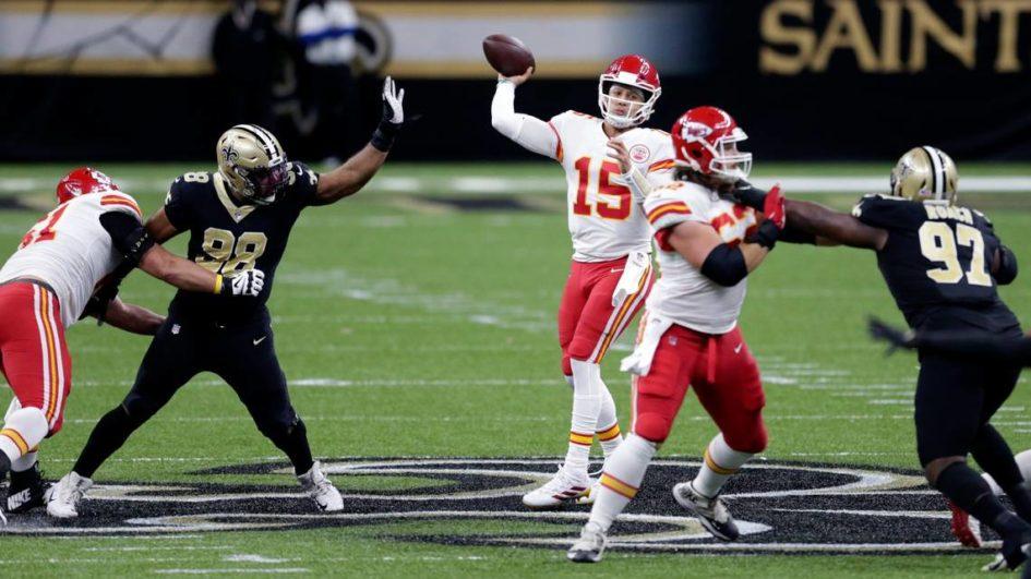 Chiefs vs Saints