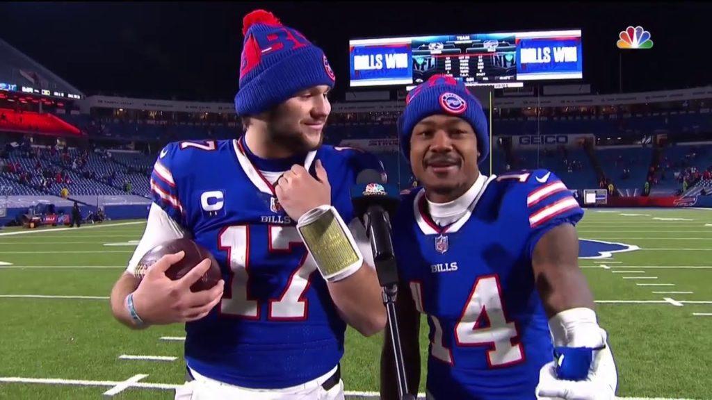 Josh Allen et Stefon Diggs - Buffalo Bills