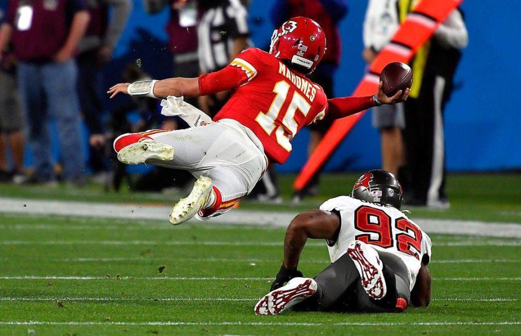 Patrick Mahomes Super Bowl LV