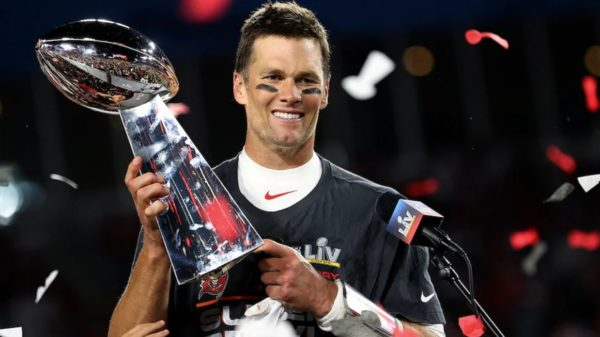 Tom Brady Super Bowl LV