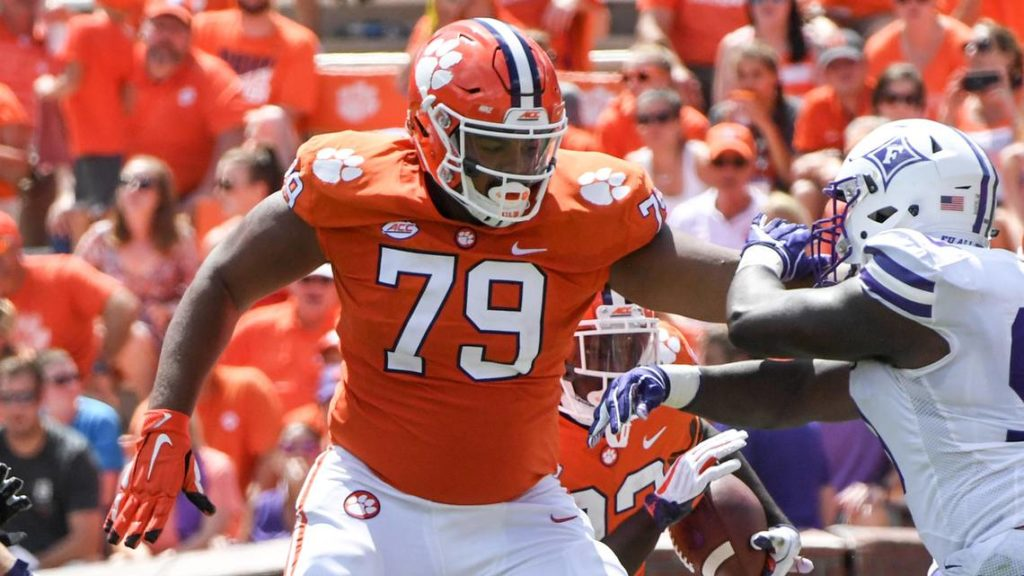 Jackson Carman Draft NFL 2021