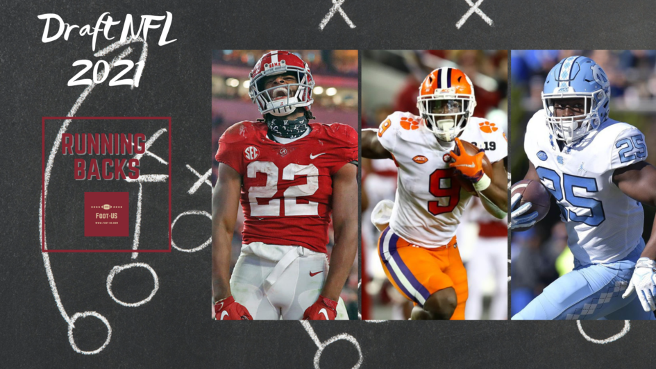 Draft NFL 2021 - Running-backs
