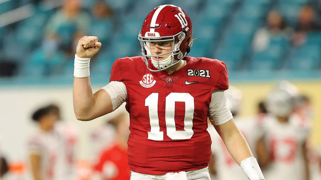 Mac Jones - Draft NFL 2021