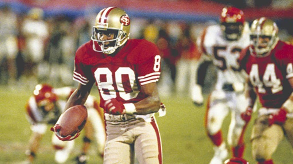 Jerry Rice Super Bowl