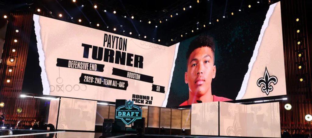 Payton Turner Draft Saints