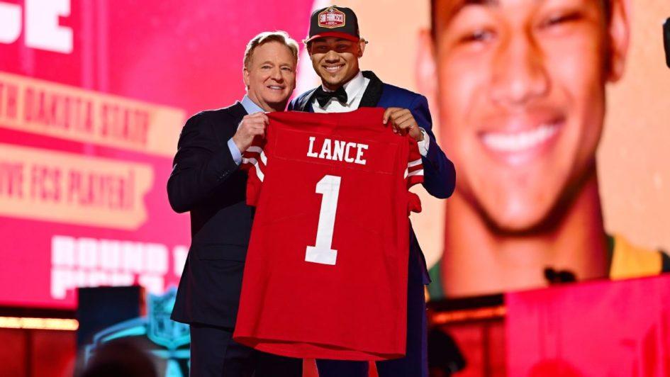 Trey Lance Draft 49ers