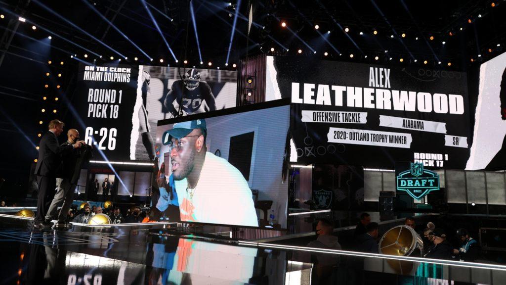 Alex Leatherwood Draft Raiders