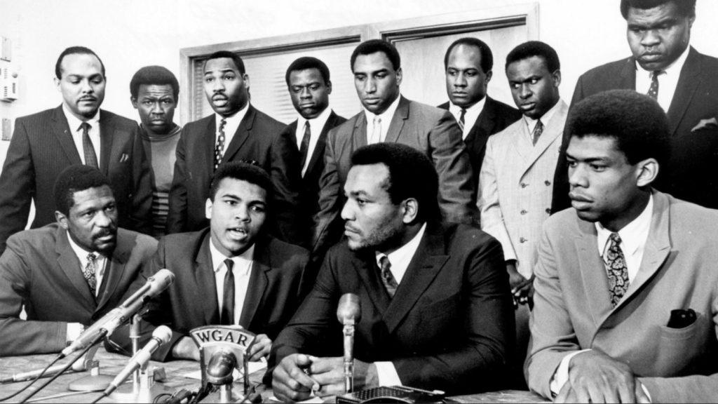 Jim Brown et Muhammad Ali